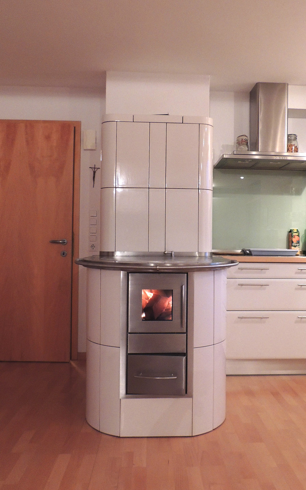 Durchheizherd Outdoor-Feuerstelle Huber Kremsmünster Österreich